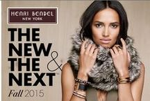 The New & The Next: Fall 2015 / Our curated must have styles for fall...... / by Henri Bendel