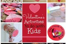 Valentine's Day / We LOVE these cute crafts, food and kid activity ideas for Valentine's Day! / by Right Start