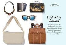 The New & The Next: Havana Bound / Break away from the itinerary and pack your bags with unique pieces for every personality, inspired by the energetic streets of Cuba.