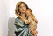 Virgen María,San José y Jesús niño / Imágenes de la bendita Virgen María, el divino niño Jesús  y San José / Bless Mother Virgin Mary, little Jesus and Saint Joseph