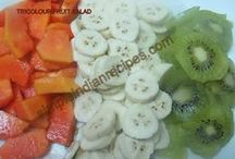 Indian Salads / Indian and international salads.
