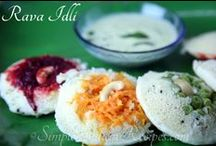 Indian Breakfast and Tiffin Varieties / Indian Breakfast Dishes and Indian Tiffin Dishes