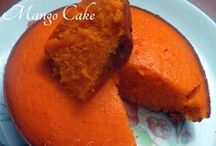Indian & International Desserts - Cakes & Cookies / Deserts like cakes and cookies from India and around the world