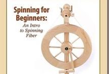 Spinning for Beginners / Feed that desire to make your own yarn! This board will introduce the basics of spinning so you'll be spinning fiber into beautiful yarn in no time.