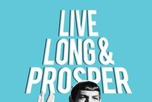 Live Long and Prosper / by Sarah S