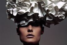 Inspiration / My inspiration for Couture Headwear for next season..