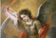 Ángeles y Santos / Angels & Saints / Imágenes de ángels y santos  /  Images of angels and saints