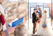 Nice Day for a Geek Wedding || Geeky Nuptial Inspiration / Wedding inspiration for fans of Doctor Who, Star Trek, Game of Thrones, and more!
