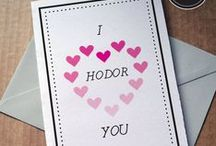 Geeky Valentine's Day || Nerd Love / For your nerd love.