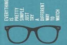 I wear glasses and I love it! / Eyewear