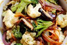 yummy, yummy stir-fry, one pan dishes and casseroles / by Crystal Stewart