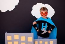superhero theme / by Schoolgirl Style www.schoolgirlstyle.com
