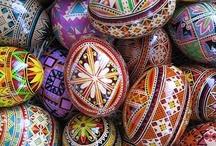 Ukrainian eggs / by Denise Miller