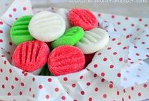 Yum! Candy-licious / Candy of all sorts - but especially fudge -  plus sugared nuts and fruits.  / by BeyondCrochet