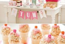 Party Ideas / To go princess or St. Patty's Day themed... maybe a little of both! / by Angie Greving