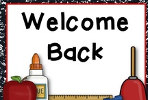 Back to School / Everything August and September (unless you're from Australia, that is ;) to get you up and running for a great new year. / by Teaching Blog Addict