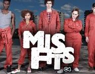 Misfits (2009) / Misfits is a British science fiction comedy-drama television show about a group of young offenders sentenced to work in a community service programme, where they obtain supernatural powers after a strange electrical storm