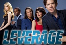 Leverage / Leverage is an American television drama series. Leverage follows a five-person team: a thief, a grifter, a hacker, and a retrieval specialist, led by former insurance investigator Nathan Ford, who use their skills to right corporate and governmental injustices inflicted on ordinary citizens