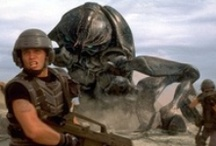 Starship Troopers / Starship Troopers is a 1997 military science fiction thriller film directed by Paul Verhoeven and written by Edward Neumeier, loosely adapted from Starship Troopers, a science fiction novel by Robert A. Heinlein