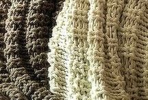 """""""WE'VE GOT YOU COVERED!"""" - Knit Blankets Afghans & Throws / by MaryAnnsDesigns Knitting Patterns"""
