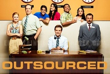 Outsourced / Outsourced is set in a call center in Mumbai, India, where an American novelties company has recently outsourced its order processing. A lone American manages the call center and must explain American popular culture to his employees as he tries to understand Indian culture