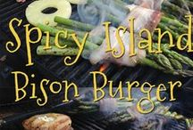 Bison Burger Recipes / Recipes for bison burger (or ground bison meat) that we love or want to try!