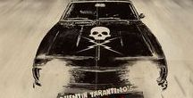 """Death Proof / Death Proof is a 2007 American action thriller slasher film written and directed by Quentin Tarantino. The film centers on a psychopathic stunt man who stalks young women before murdering them in staged car accidents using his """"death-proof"""" stunt car. Kurt Russell, Rosario Dawson, Vanessa Ferlito, Jordan Ladd, Rose McGowan, Sydney Tamiia Poitier, Tracie Thoms, Mary Elizabeth Winstead, and Zoë Bell as herself."""