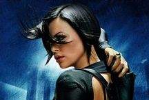 Æon Flux / Æon Flux is a 2005 science fiction action film directed by Karyn Kusama. The film is a loose adaptation of the animated science fiction television series of the same name, which was created by animator Peter Chung