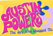 Austin Powers / The Austin Powers series is a series of three action-comedy films – Austin Powers: International Man of Mystery (1997), Austin Powers: The Spy Who Shagged Me (1999) and Austin Powers in Goldmember (2002) – directed by Jay Roach, produced, written by and starring Mike Myers