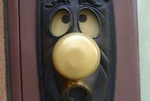 Knock Knock! / door knobs and knockers / by Bluzcat