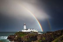 Irish Rainbows / Ireland's rainy climate has a silver lining taking shape in the frequent appearance of magnificent rainbows... some have even captured a few double and triple rainbows in the Emerald Isle.