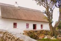 Irish Thatched Cottages