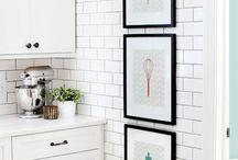 Subway Tile / A tile look I like