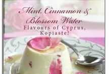 """Cypriot Recipes - Greek - Cypriot recipes / Most of these recipes are included in my cookbook """"Mint, Cinnamon & Blossom Water, Flavours of Cyprus, Kopiaste!"""" available on Amazon.com http://www.amazon.com/Cinnamon-Blossom-Flavours-Cyprus-Kopiaste/dp/1449997813"""
