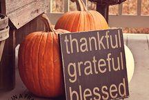 Thanksgiving / by Lana Findlay