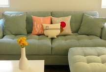A room for living in / by Amanda Freeman {Realistically Domestic}