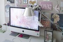 Creative Workspaces / Desk, creative ideas for inspiration when working