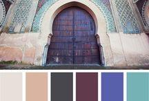 Color Palette/ Colores / Beatuful color Inspiration