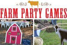 Farm Themed Kids Birthday Party / Farm themed kids first birthday party
