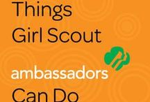 Cadette, Senior, and Ambassador Board / This board is for older girl scout leaders