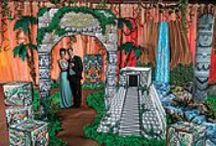 Prom Theme - Mayan Fantasy / Take your Prom to the tropical Mayan Ruins! / by Stumps Party