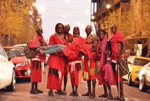 Maasai Cricket Warriors in South Africa 2015 / The Maasai Cricket Warriors are youth from Laikipia in Kenya who have dropped their spears for cricket bats. wwww.maasaicricketswarriors.co.ke