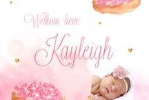 Fotokaartjes / De mooiste geboortekaartjes met de foto van je baby.