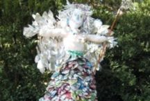 Scarecrows / Having a scarecrow in the garden is a bit of fun and also a way of keeping birds out. / by Greenside Up