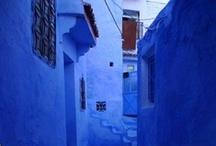 ❀ Blue touches Blue...