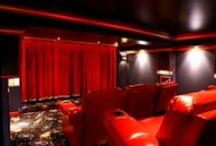 Home Theaters / Incredible home theater designs and custom installations.