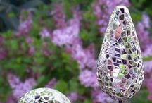Mosaic Garden Art / by Greenside Up
