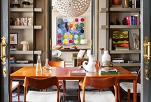 ✵ Eclectic Interiors / Deriving ideas, style, or taste from a broad and diverse range of sources.