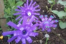 Recycled Garden / Gardening and upcycling  / by Greenside Up