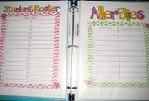 First Grade, Organization & Decor. / by Cassandra Perish